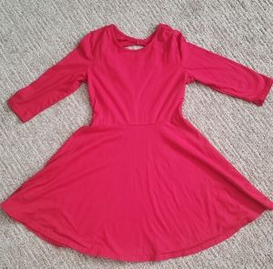 Children's Place Red Girls Dress Size 7 / 8